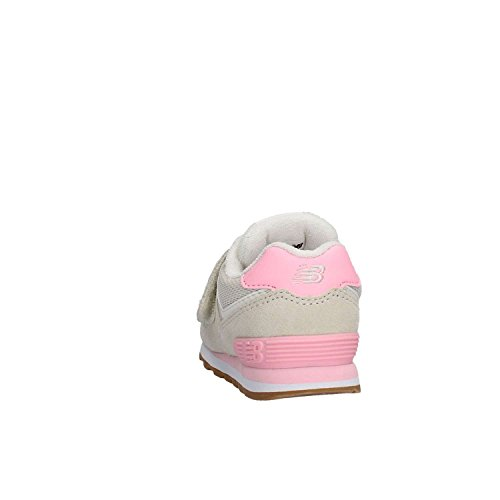 New Balance Kv574czy M Crochet Et Boucle, Baskets Basses Unisexes - Kids Grey