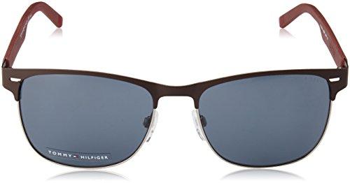 Unisex-Adults TH 1401/S QF Sunglasses, Mtbrown Burg, 56 Tommy Hilfiger