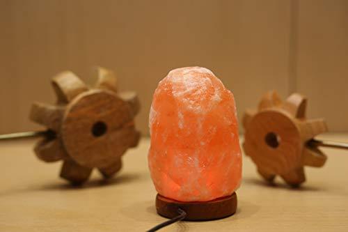 Lampada di sale dell'himalaya lampada in cristallo ad aria purificataadatta per casa o ufficio per camera da letto ufficio spa sala yoga