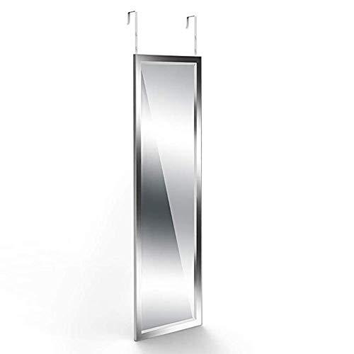 Espejos de Suelo Colgar en la Puerta Espejo del Piso Espejo de Cuerpo Entero Espejo apropiado Tienda...