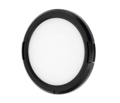JJC Easy Snap Weißabgleichkappe für 77mm Filter Durchmesser 77 Mm Snap