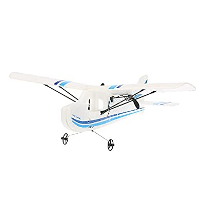 GoolRC Mini Remote Control Airplane Aeroplane RTF RC Aircraft Drone with 2.4G 2CH Control RC Flying Aircraft for Indoors/Outdoors Flight Toys