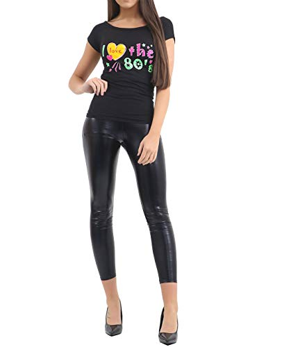 ecbfe6fea272c Rimi Hanger Ladies I Love The 80s T Shirt Womens Fancy Dress Retro Outfit  Hen Party