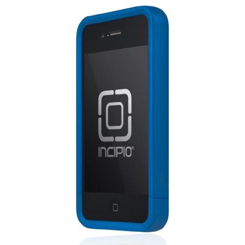 Incipio Edge Pro Hartschalen-Schutzhülle für iPhone 4 / 4S (inklusive Tragetasche), irisierendes Blau Incipio Edge Pro Iphone