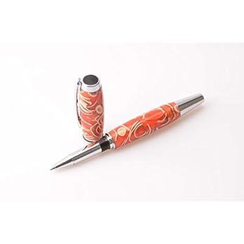 Tintenroller Rollerball aus Pistazienschalen handgefertigt und personalisierbar