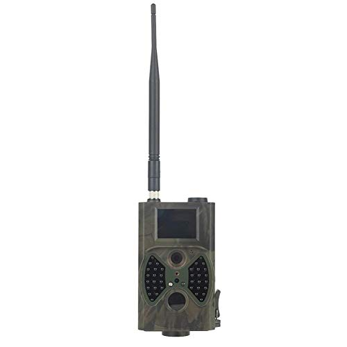 Jagd-Spiel-Kamera, 1080P 12MP Wildlife-Kamera HD-Nachtsicht, IP54 wasserdicht für Wildlife Monitoring und Home Security