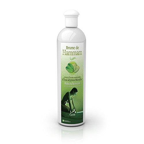 Camylle - Brume de Hammam - Emulsion von Ätherischen Ölen für Dampfbad – Euka/Minze - Erfrischend – 500ml