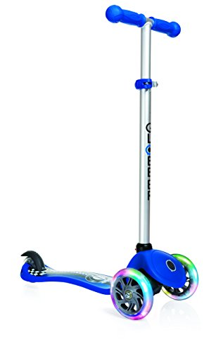 Globber My Free Fantasy Racing Avec Role Scooter Lumineux Bleu One Size