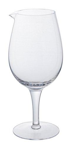 Jumbo Weinglas Karaffe (63 g), Neuheit 1.8ltr/Weinkaraffe, Riesiges Weinglas Karaffe