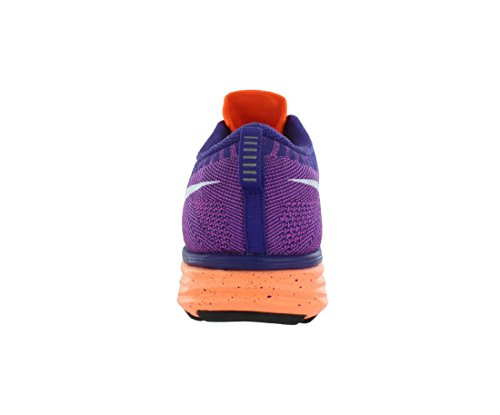 Nike Flyknit Lunar2 Us 6 Rose Running Shoe Orange