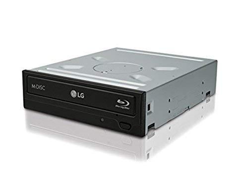 LG Blu-ray Disc Rewriter Interne Schwarz–Optisches Laufwerk (schwarz, Horizontal, SATA, Bd-R, Bd-Re DL, Bd-Re DL, Rom, CD, CD-R, CD-ROM, CD-RW, DVD, DVD + R, DVD + R DL, DVD + RW, DVD + RW..., 22,16MB/s, 48x)