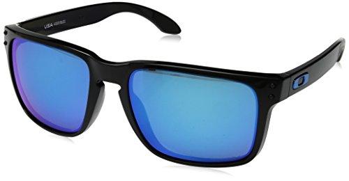 Oakley Herren Holbrook XL 941703 Sonnenbrille, Schwarz (Negro/Brillo), 0