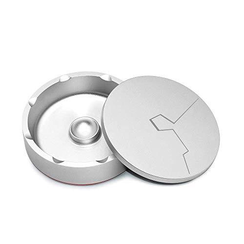 Ximger concise design posacenere in metallo portatile posacenere con coperchio per sigari, ermetico posacenere per ufficio e casa
