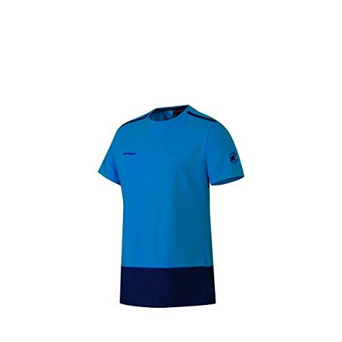 Mammut Herren T-Shirt Kurzarm Trovat Advanced Men Blau Outdoor Shirt Freizeit Freizeitshirt Sportshirt Trekking Blau