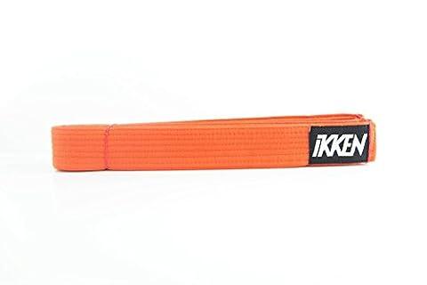 Karaté Judo Taekwondo Ceinture   Toutes Tailles et Couleurs (Orange, 220cm)