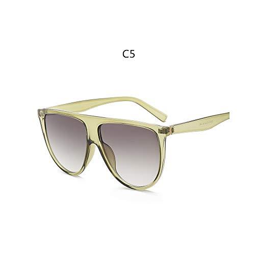 NiQiShangMao kim kardashian sonnenbrille frau vintage retro flat top Thin Shadow sonnenbrille platz Pilot luxus designer große schwarze schattierungen
