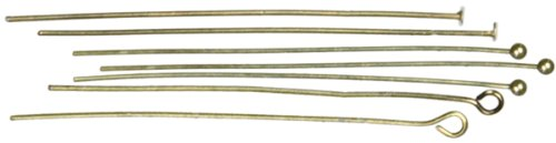 Home Depot Pin (Cousin Jewelry Basics-Kopf/Eye Pin, antik gold)