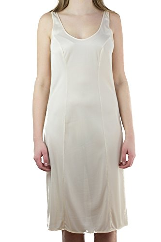 Graziella Unterkleid Unterrock 27400613 Gr. 40-62 weiß puder schwarz 98cm lang Puder