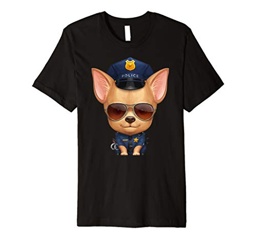 ihuahua Police Officer T-Shirt ()