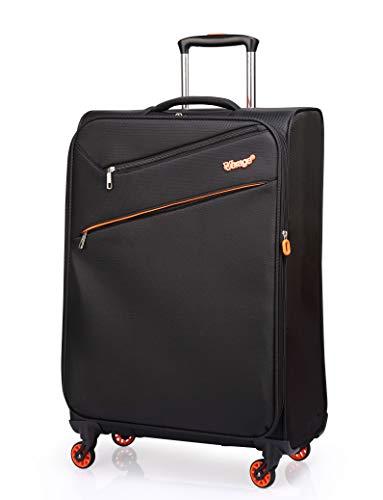 """Verage So-Lite Handgepäck Koffer Schwarz S-47cm(18.5\"""") Trolley Suitcase Reisekoffer Marken-Qualitätsware 55x35x20cm Kabinenkoffer für alle Fluggesellschaften. Super leicht nur 1,55kg!"""