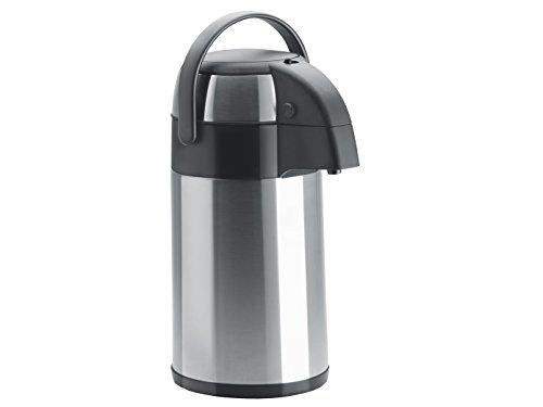 GGG - Thermos professionale in acciaio INOX con sistema pompa, 2 l,...
