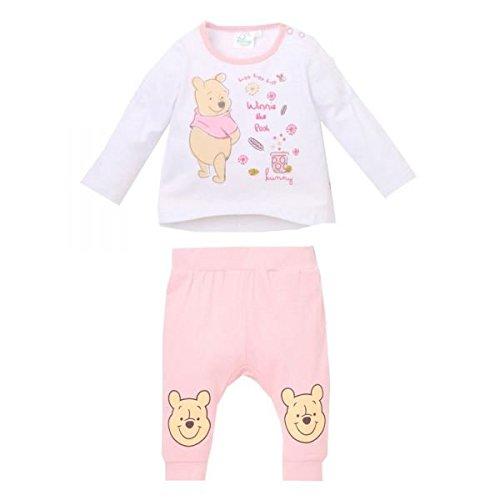 Disney Winnie l'ourson Baby-Mädchen Bekleidungsset 2133, Weiß Blanc, -