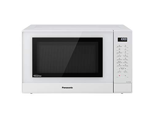 Panasonic Four micro-ondes gril NN-GT45KWSUG 31 Litres, Technologie Inverter, Puissance Gril à Quartz 1100 W, Puissance Micro-Ondes 1000 W, 24 Programmes Automatiques, Plateau tournant 34 cm, Blanc