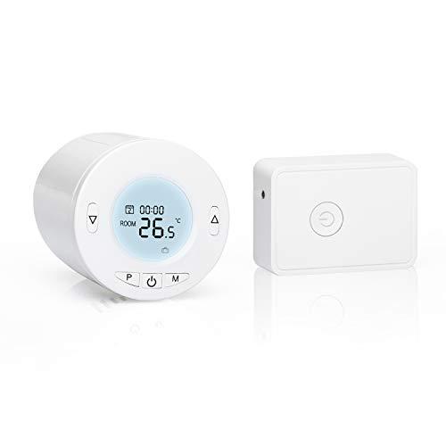Válvula Termostática Wi-Fi Inteligente Meross, Termostato de Calefac