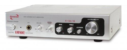 Preisvergleich Produktbild Dynavox ESA-18 Mini Verstärker 2 x 75 Watt silber