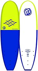 Madness Surfbrett aus Schaumstoff, 6 Zoll / 35,6 cm, Blau
