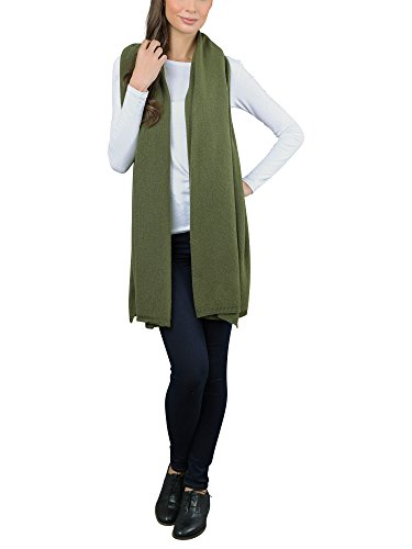 Italy in Cashmere - Etole - Femme Vert (Loden)