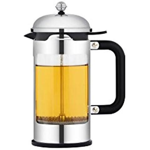 2016 new Ley de presión de olla cafetera de infusión té burbuja té tazas de café 350ML , 1500ml