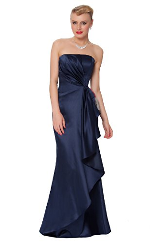 SEXYHER Herrliches bodenlangen Strapless Brautjungfern formales Abend-Kleid - EDJ1611 (Brautjungfer Strapless Kleid)