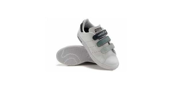 cf14f22627dfb0 Adidas Stan Smith Klettverschluss Größe 43 1 3  Amazon.de  Sport   Freizeit