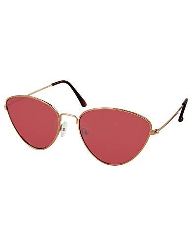 Accessorize Damen Dreieckige Sonnenbrille Tia Sonnenbrillen Sonnenbrillen - Einheitsgröße