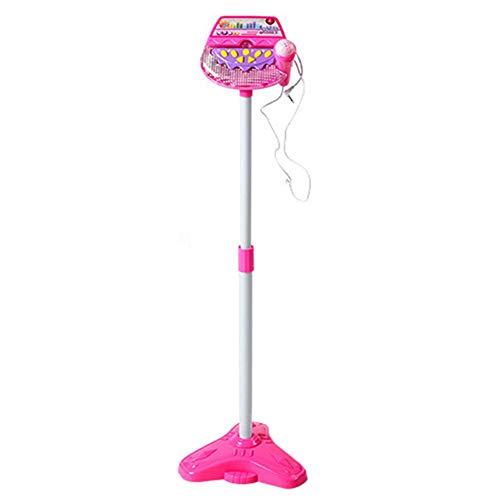 Kinder Stehen Mikrofon Musical Toy Karaoke Machine Singen Spielzeug mit MP3 Mikrofone Disco Blinkende Lichter Kid Lustige (Zug Von Mp3-songs)