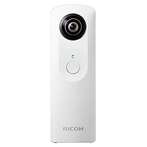 Ricoh Theta M15 Digitalkamera (WLAN, 4GB interner Speicher, USB 2.0) weiß