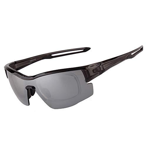 Zona Elegent UV400 Farbwechsel Polarisierte Sonnenbrille Grau Herren Reitbrillen Outdoor Sports Sandsäcke Schutzbrillen Bezaubernd