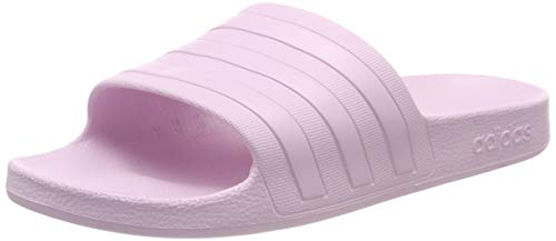 Adidas adilette aqua, scarpe da spiaggia e piscina unisex adulto, rosa (aero pink s18/aero pink s18/aero pink s18 aero pink s18/aero pink s18/aero pink s18), 38 eu