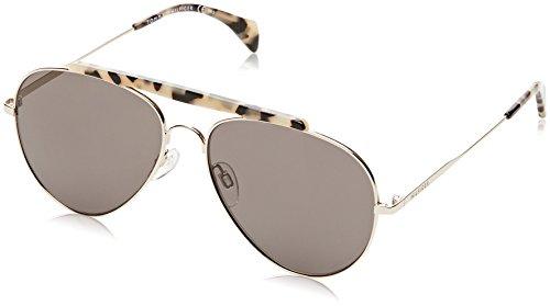 Tommy Hilfiger Unisex-Erwachsene TH 1454/S NR 3YG 58 Sonnenbrille, Gold/BRW Grey