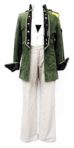 Chong Seng CHIUS Cosplay Costume Outfit for Sazh Katzroy Version 1