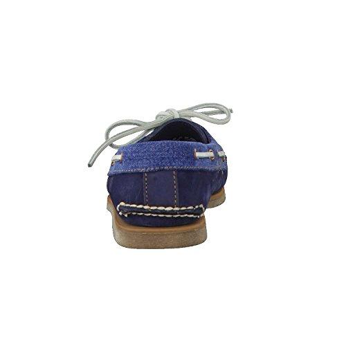 Timberland , Chaussures de ville à lacets pour homme Bleu nuit