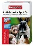 Beaphar Rabbit & Guinea Pig Anti-parasite Spot On 4 Tubes