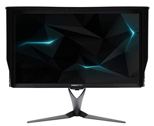 Acer Predator X27 27 Inch UHD Gaming Monitor, Black (IPS Panel, G-Sync, 144 Hz, 4 ms, HDR Ultra, Quantum Dot, DP, HDMI, USB Hub, Height Adjustable Stand)