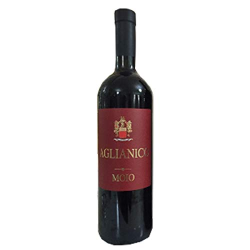 Vino Aglianico rosso - Cantine Moio - Cartone da 6 Pezzi