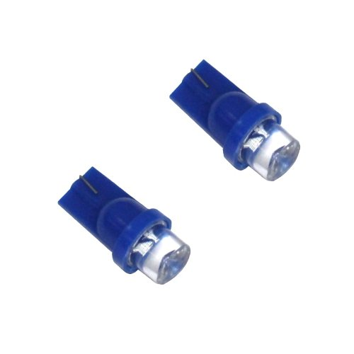 AERZETIX: Jeu de 2 ampoules T10 W5W 12V à LED (Bleu)