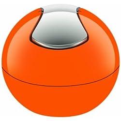 Spirella 10.14966 Bowl Poubelle Polystyrol 1 L Orange