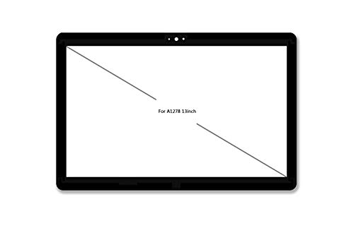 Willhom LCD-Glasabdeckung für MacBook Pro Unibody A1278 (Mitte 2009-Mitte 2012)