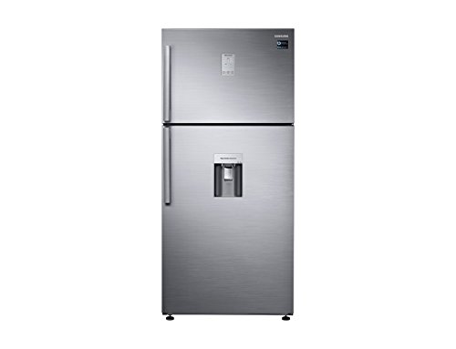 Samsung Kühlschrank Unten rt50K6540s9Finish Vorderseite Platinum Edelstahl-80cm -