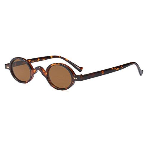 Unisex-Neue Art-Art- Und Weiseweinlese-Retro- Kleine Runde Sonnenbrille-Helle UV 400 Schutzbrille Gläser